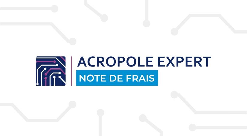 Acropole expert note de frais